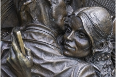 DETAIL FROM THE MEETING PLACE - ST PANCRAS STATION by Jeff Moore