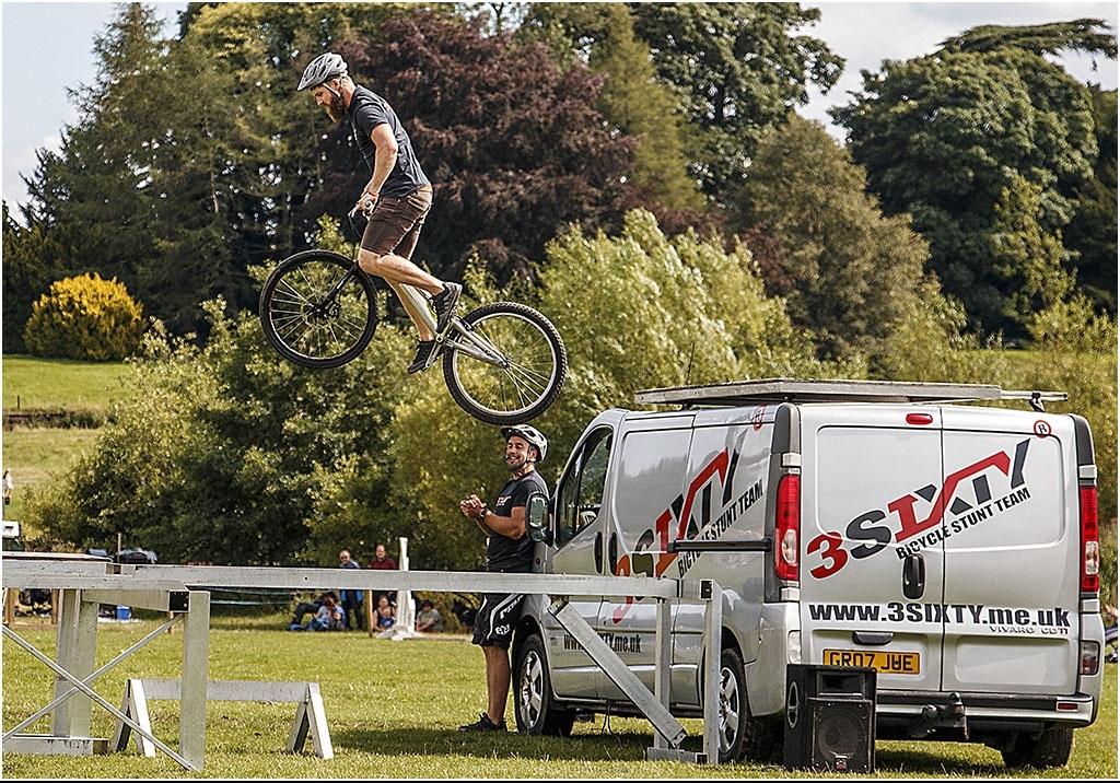 Bicycle Stunt Rider by Bob Harper