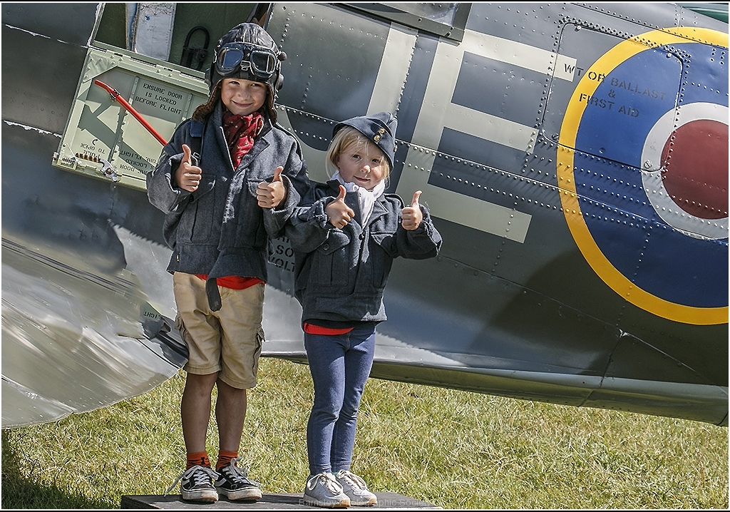Thumbs Up for the Spitfire by Bob Harper