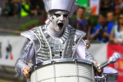 Street Drummer Tour de Yorkshire by Phil Edwards