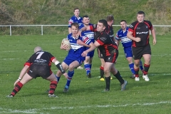 Tackled by Harry Watson