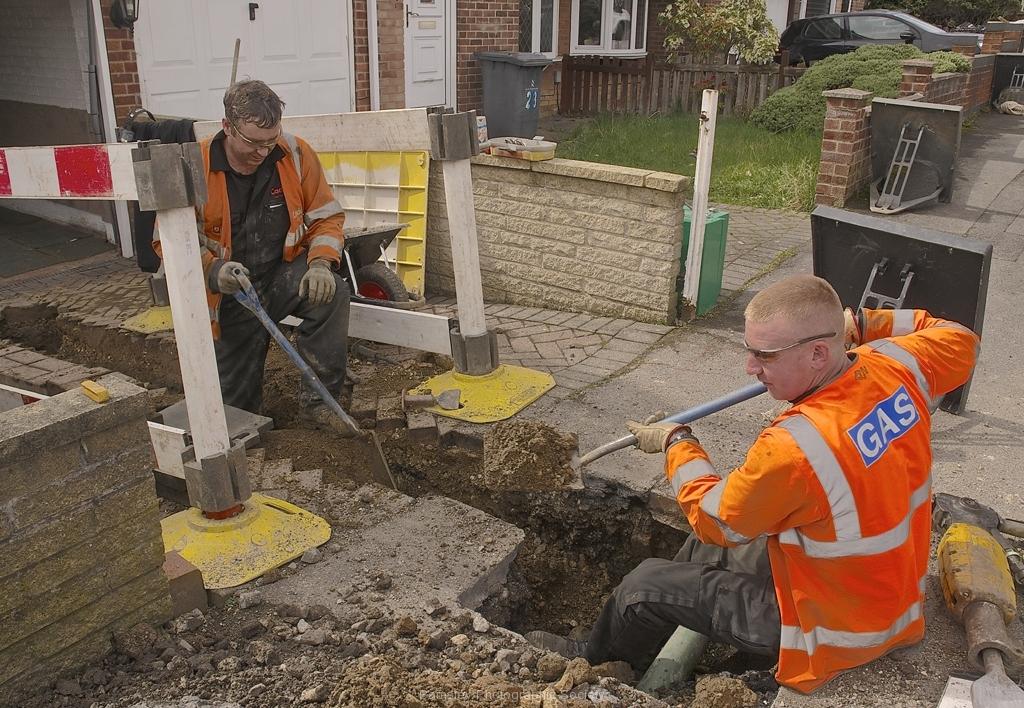 Men at Work by Harry Watson