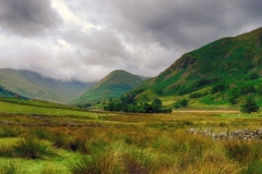 Clouds Gathering above Martindale by Jeff Moore