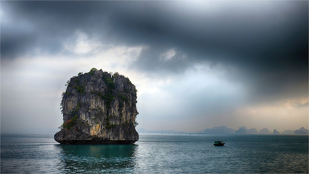 Evening in Halong Bay by Jeff Moore