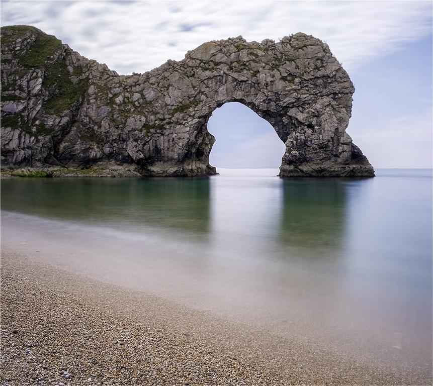 Dundle Door Dorset by Jeff Moore