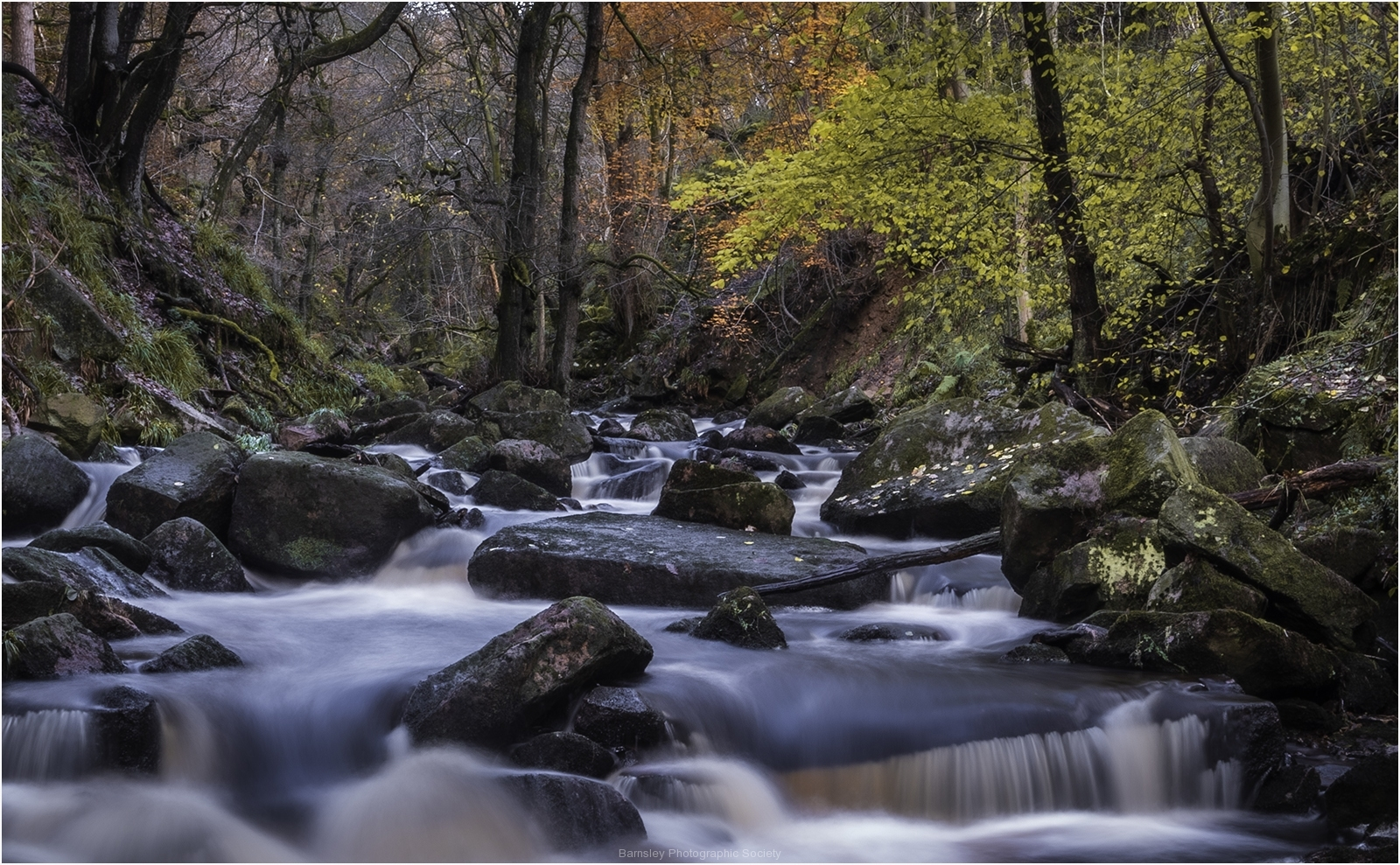 Padley Gorge by Jeff Moore