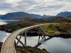 Kylesku Bridge by Rob Mason