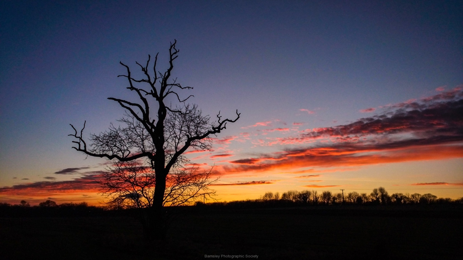 Winter Sunset by Phil Edwards