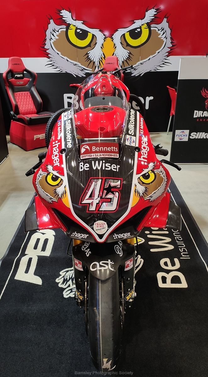 BSB Ducati by Dave Rippon