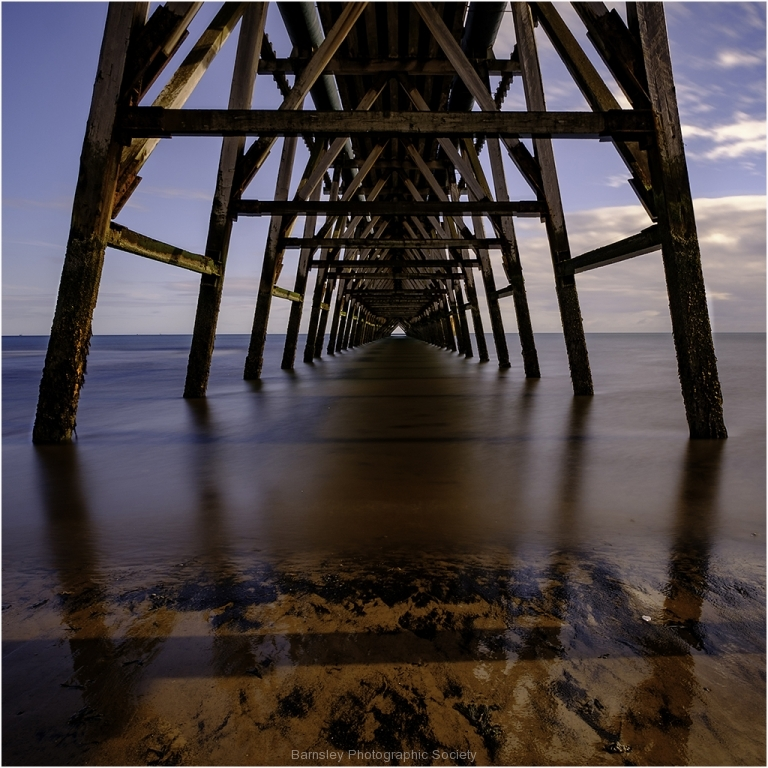 Under Steeley Pier by Jeff Moore