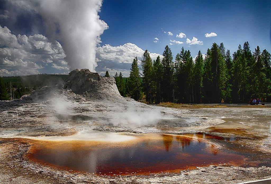 Yellowstone Geyser by Willem Van Herp