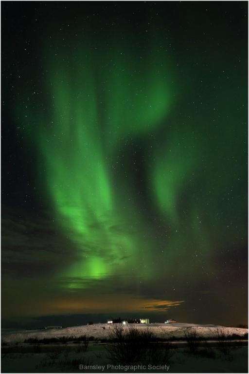 Aurora Borealis Vik Iceland by Jeff Moore