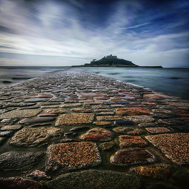 Walkway to St Michael's Mount by Jeff Moore