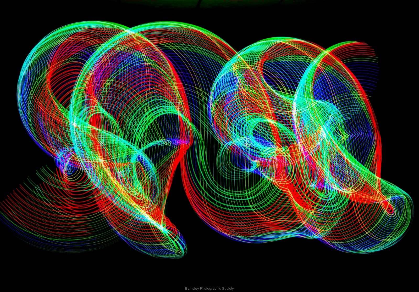 Painting in Light II  by  Dave Rippon  1