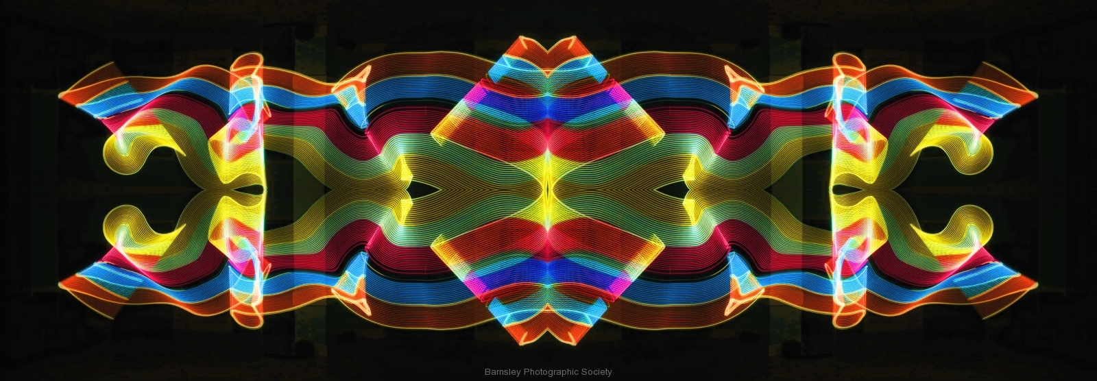 Painting in Light II  by  Dave Rippon  3