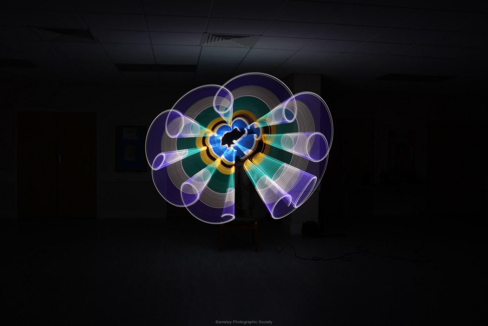 Painting in Light II  by  Dave Rippon  7