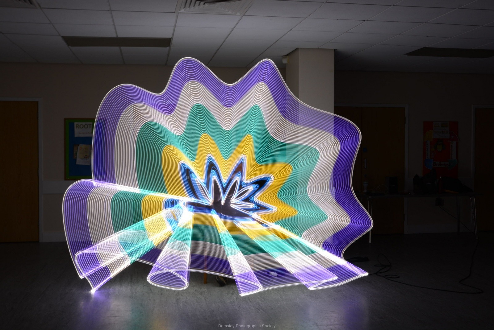 Painting in Light II  by  Dave Rippon  8
