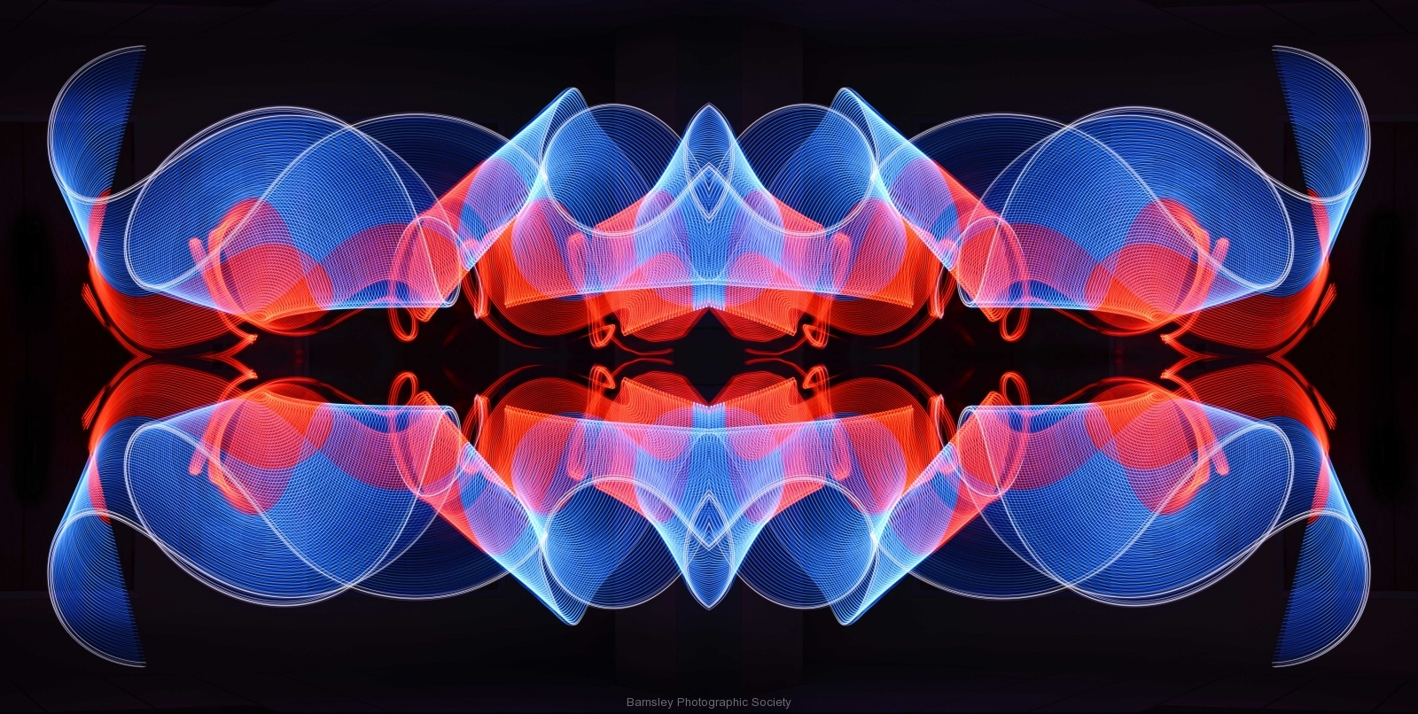 Painting in Light  by Dave Rippon 1