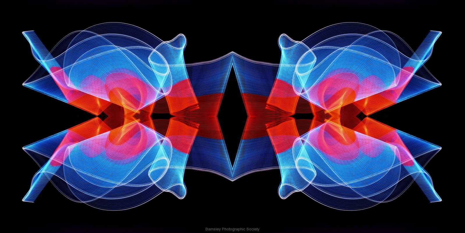 Painting in Light  by Dave Rippon 2