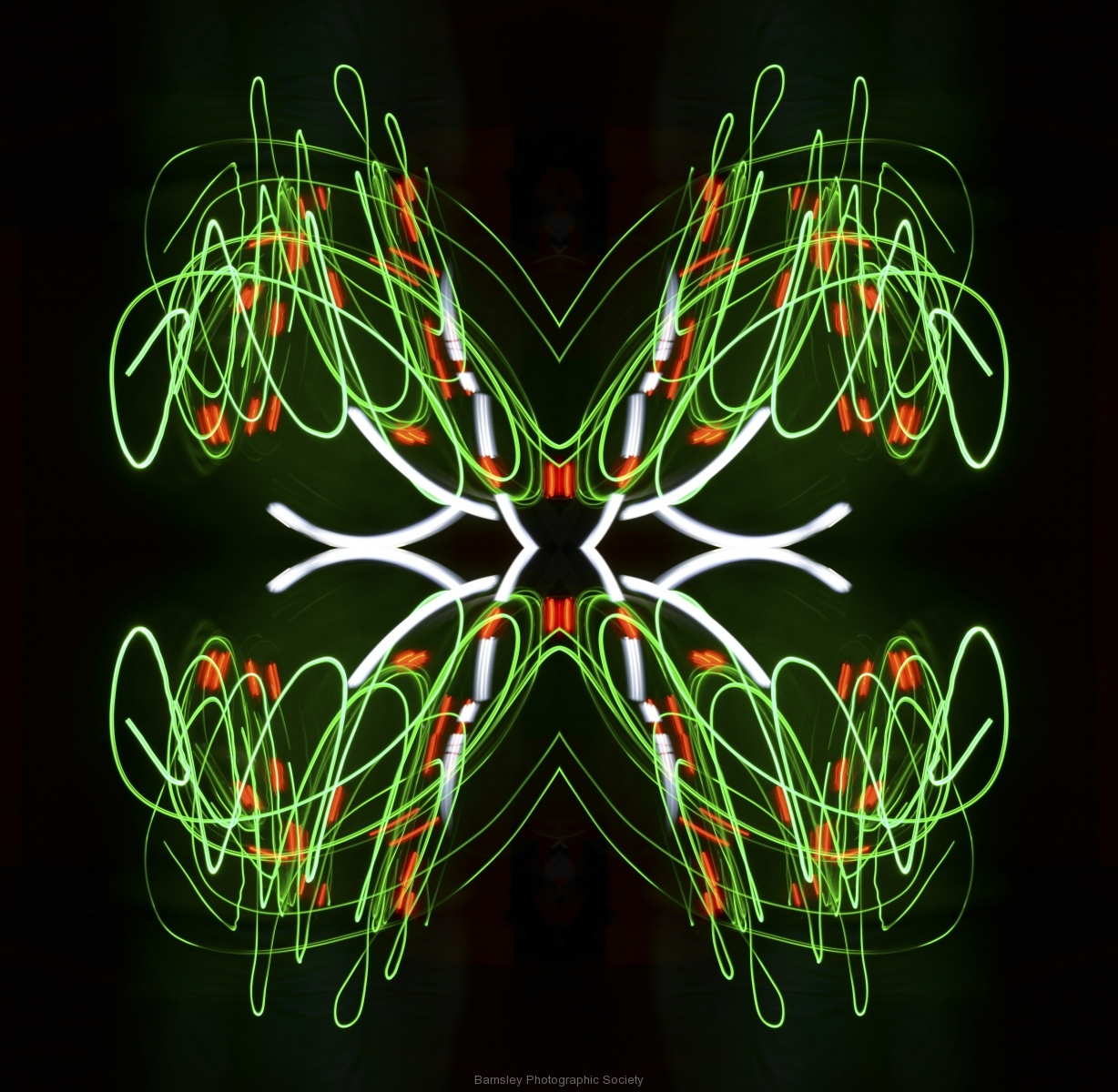 Painting in Light  by Dave Rippon 4