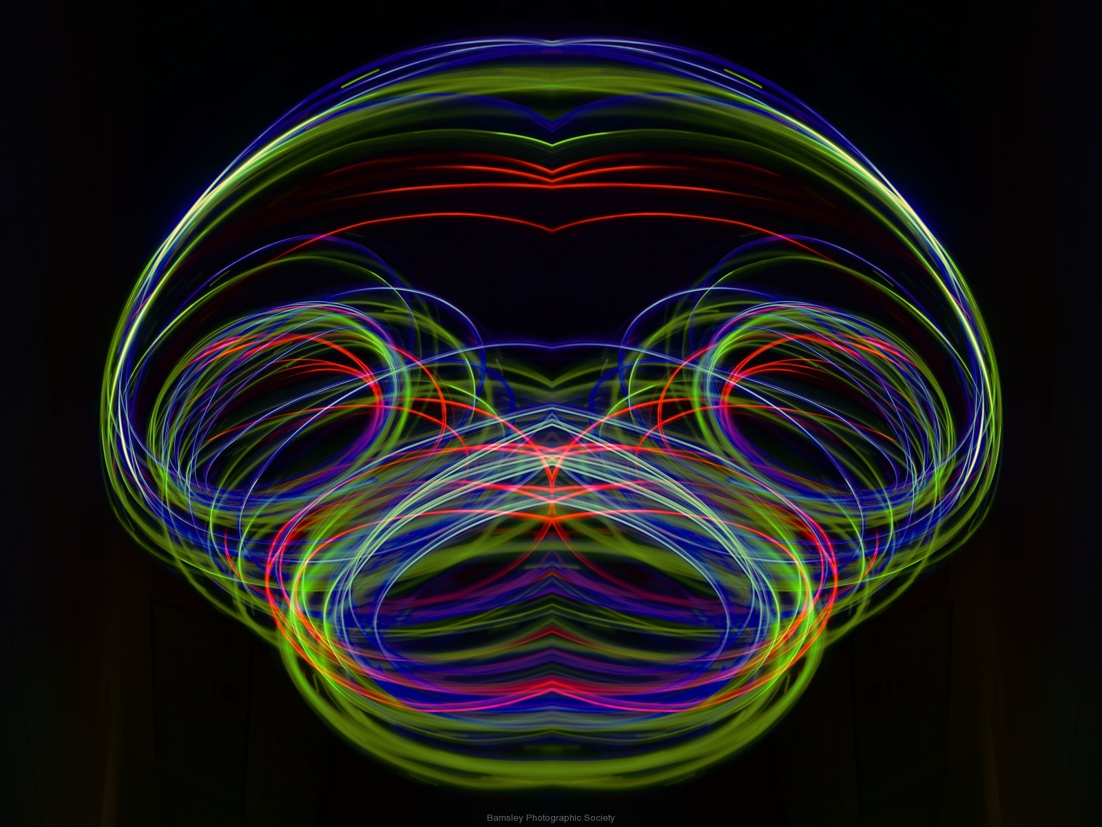 Painting in Light  by Dave Rippon 5