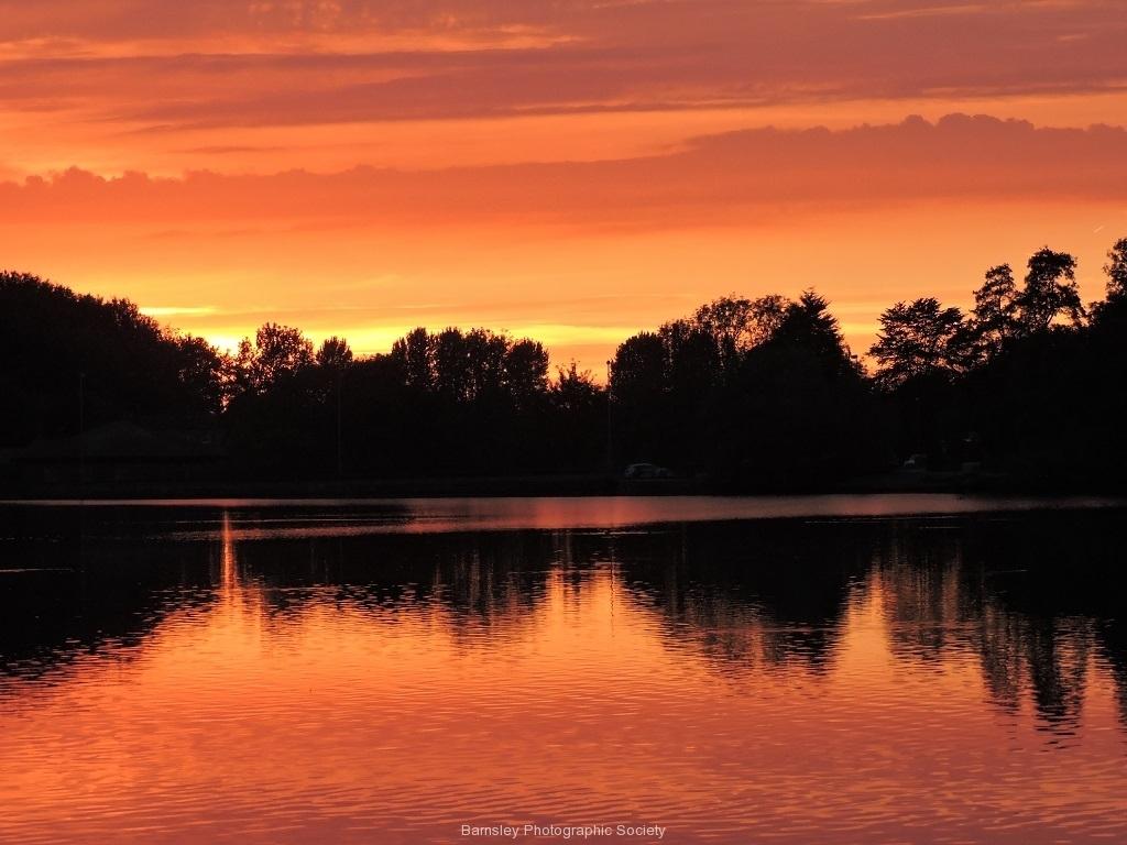 12 NEWMILLEREDAM SUNSET by Paul Coverdale