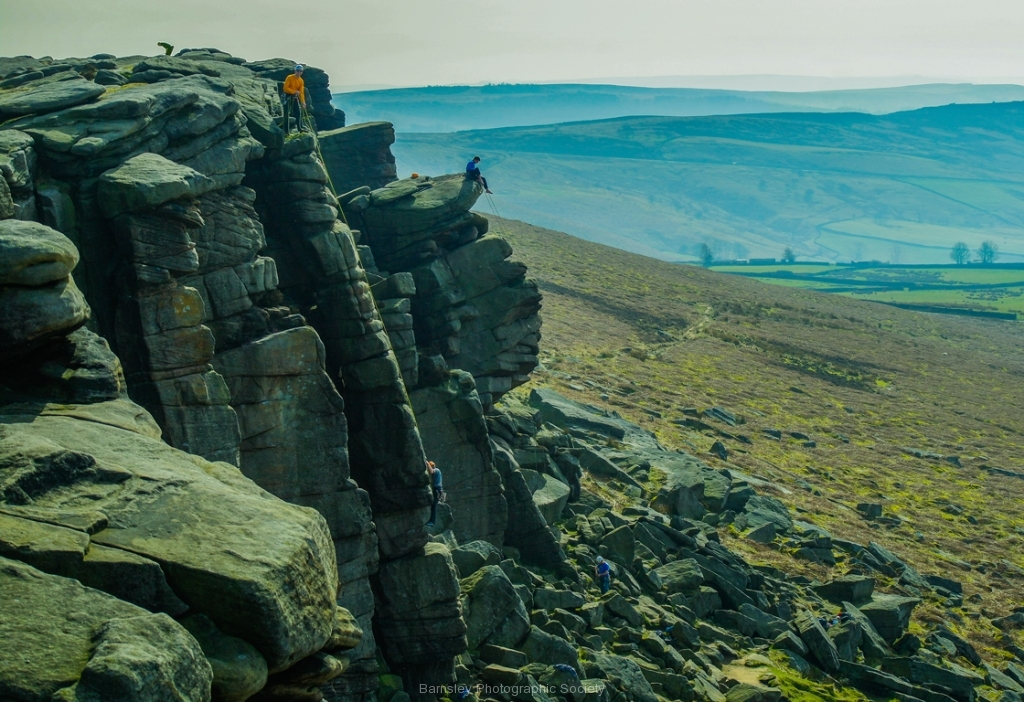 ROCK CLIMBERS by Phil Edwards