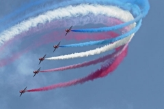 Red Arrows by Andy Kent