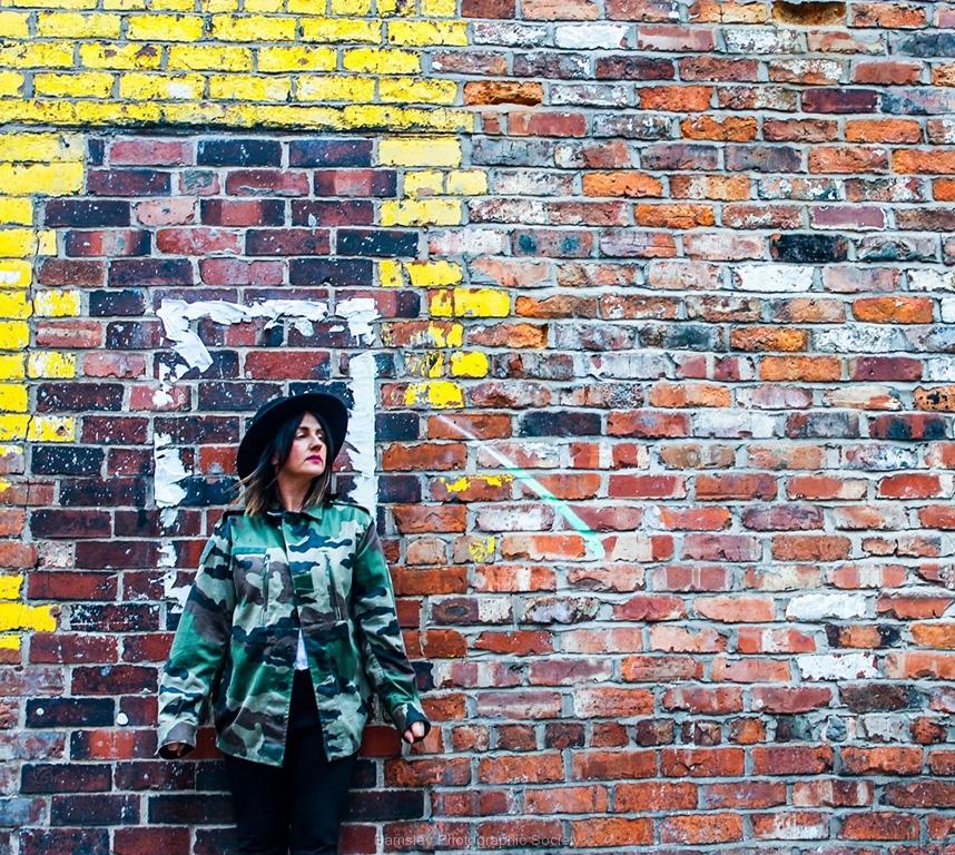 Yellow Brick Framed by Glynn Rhodes