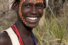 Kara Tribe Man by Willem Van Herp