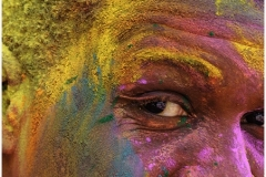 Celebrating Holi by Jeff Moore