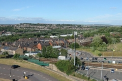 VIEW OVER BARNSLEY by Rhisnnon Rees