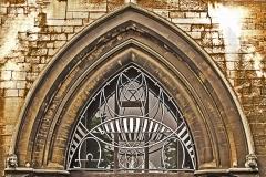 PART OF THE CHURCH DOORWAY ARCH by Roy Lloyd