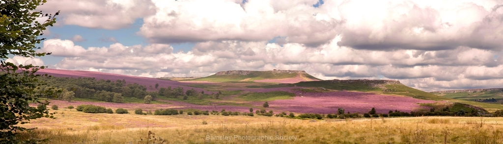 HIGGER TOR AND CARL WARK by Tom Allison