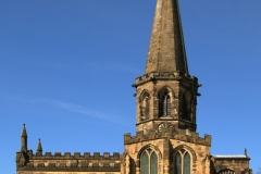 ALL SAINTS CHURCH BAKEWELL by tom allison