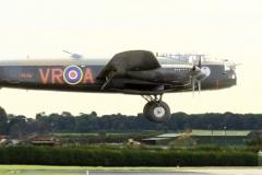 LAST LANCASTER FLIES IN TO WADDINGTON By Tom Allison